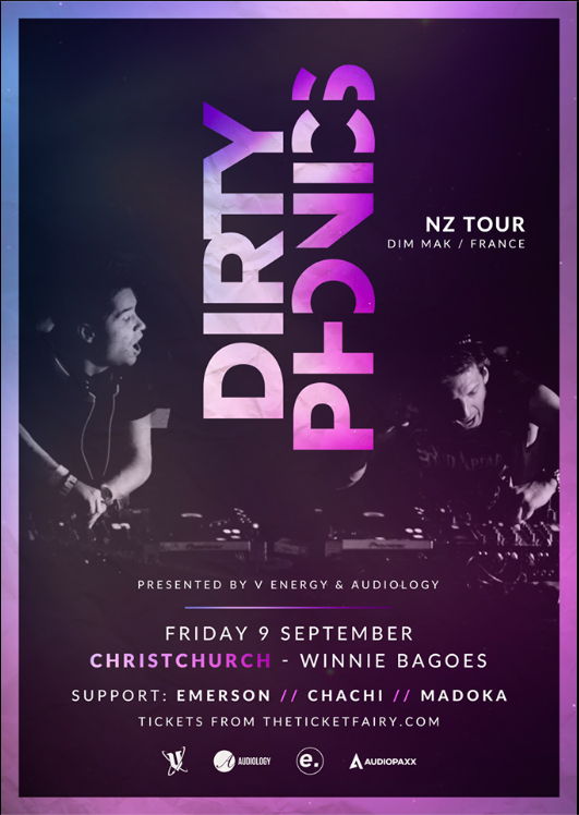 Dirtyphonics (France) - Christchurch