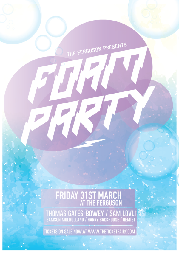 FOAM PARTY — Auckland