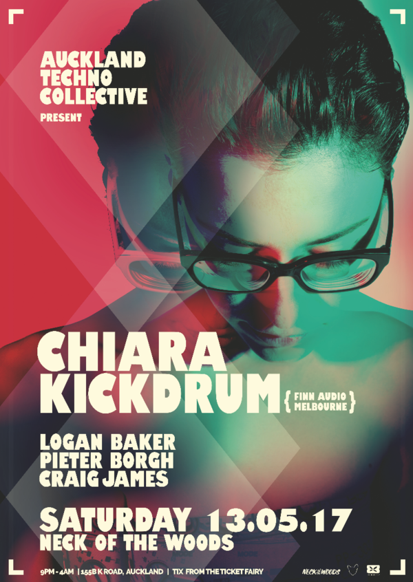 Auckland Techno Collective : Chiara Kickdrum