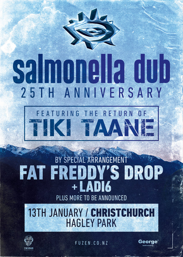 Salmonella Dub 25th Anniversary feat. Tiki Taane - Christchurch