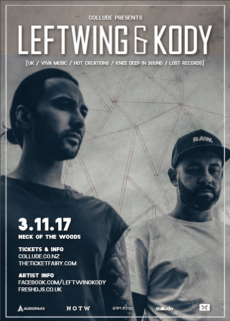 Leftwing & Kody [UK] | Auckland.