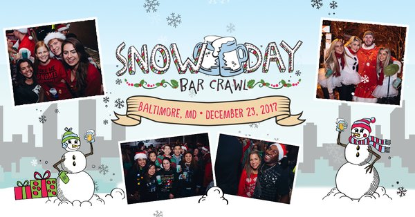 Snow Day Bar Crawl - Baltimore