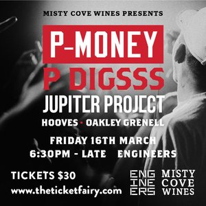Misty Cove Wines Presents : P-Money and Friends