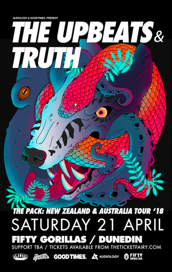 The Upbeats & Truth - Dunedin