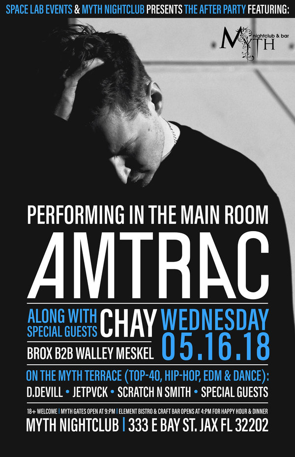 The After Party: Amtrac / Chay / Brox b2b Walley Meskel