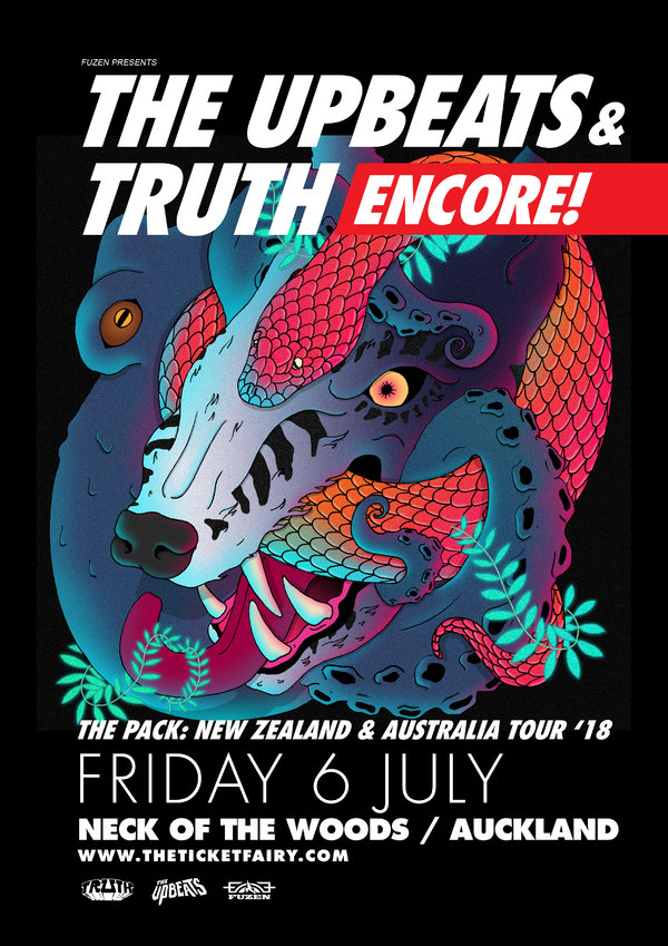 THE PACK - AKL Encore - The Upbeats+Truth