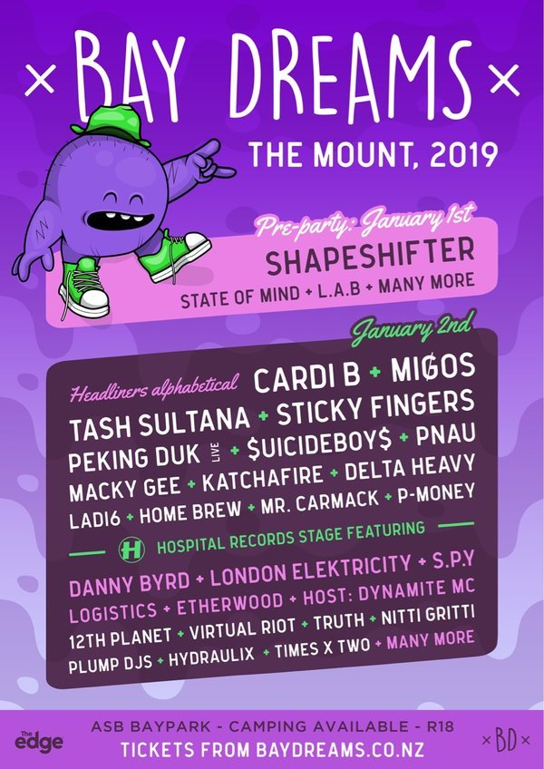 Bay Dreams 2019 - The Mount