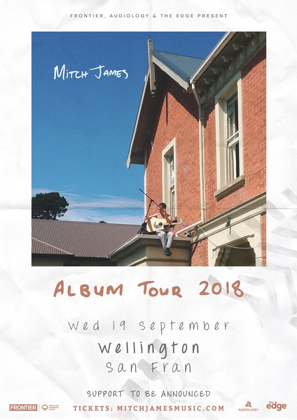 Mitch James - Album Tour (Wellington)