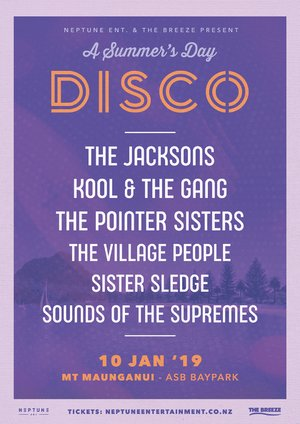 A Summer's Day Disco ft. The Jacksons, Kool & The Gang & more
