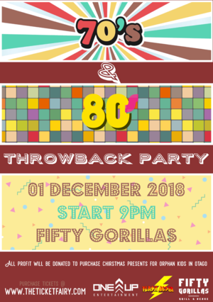 70s 80s Throwback Party