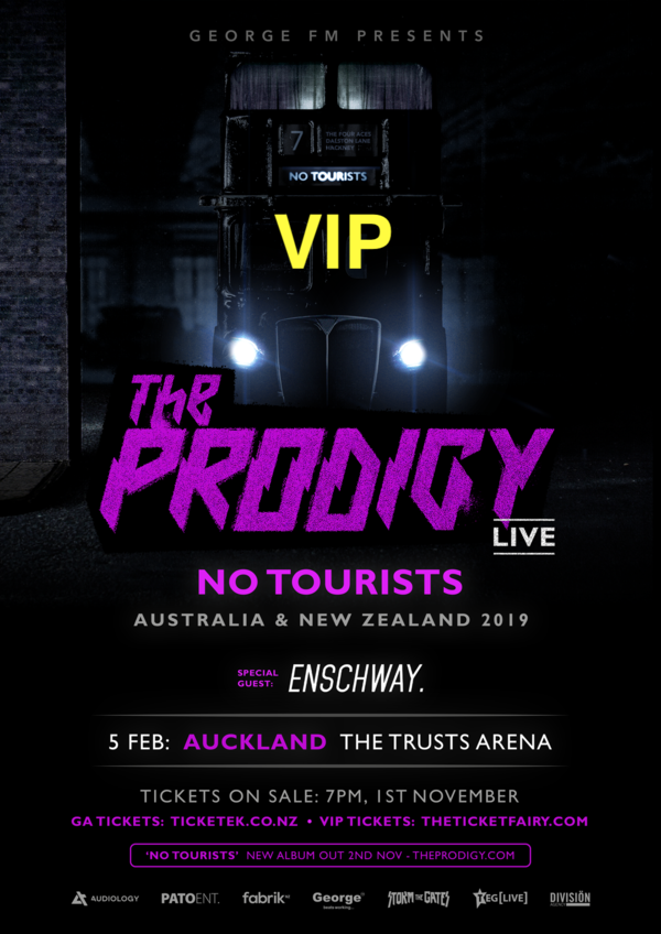 The Prodigy LIVE (Auckland) - VIP TICKETS