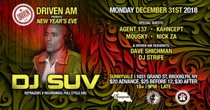DJ SUV (Reprazent) on NYE by Driven AM