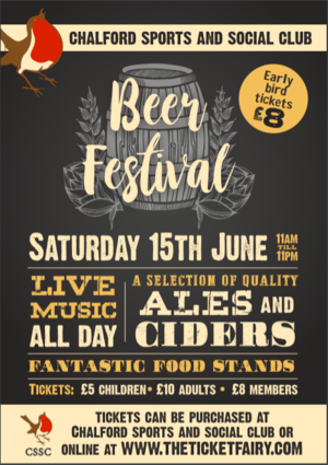 CSSC Beer Festival - Saturday 15th June