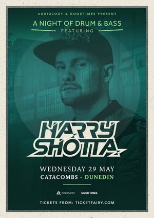 A Night of Drum & Bass ft. Harry Shotta (SaSaSaS) - Dunedin
